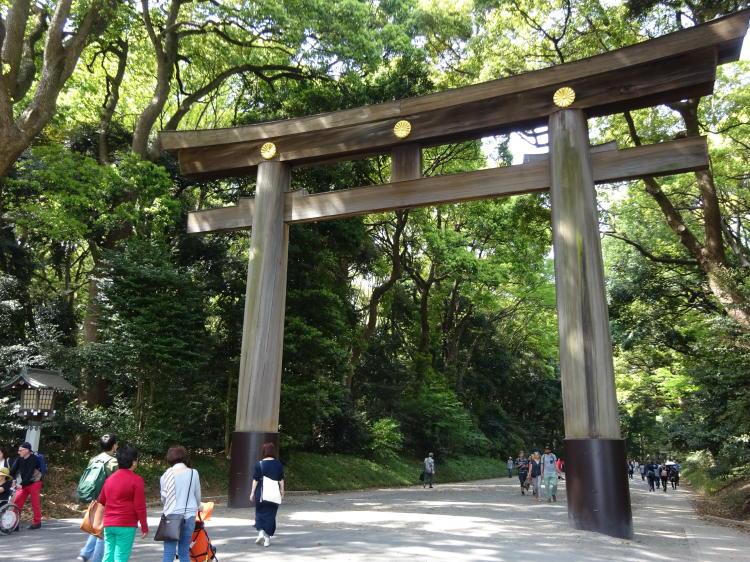 Meiji-Schrein - Park - Tokio