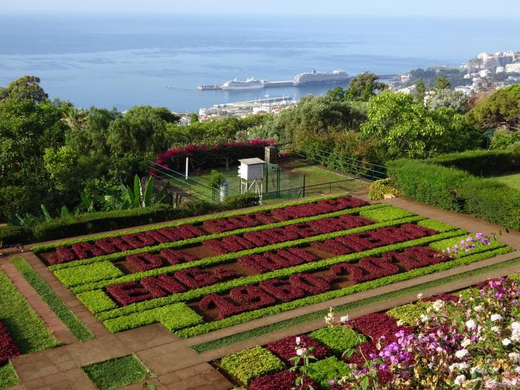 Botanischer Garten Madeira - Funchal