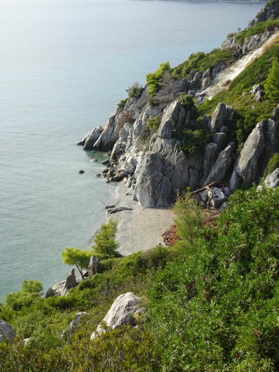 Observation Point 'Pavilion' bei Loutra - Süden Kassandra