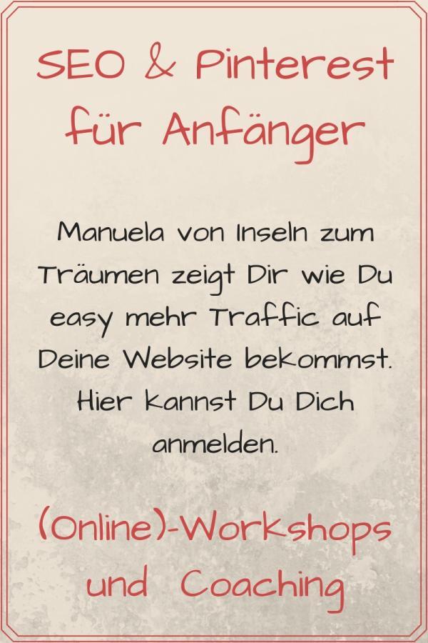 Workshop SEO und Pinterest