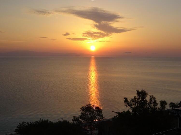 Sonnenaufgang Kallithea