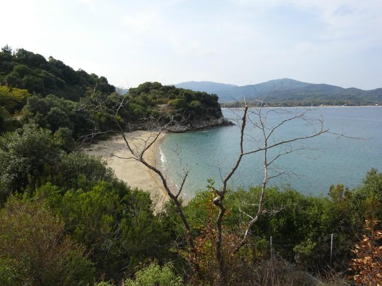 Strand bei Stagira