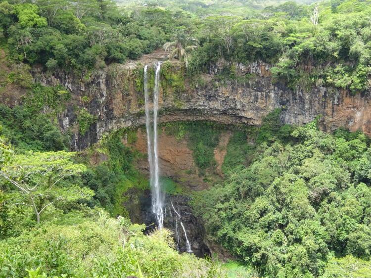 Cascade Chamarel - Wasserfall