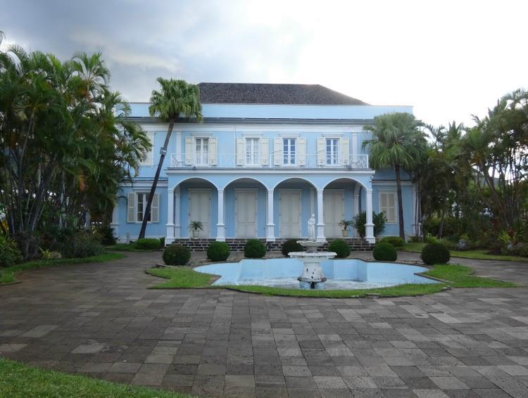 Kreolische Villa - Rue de Paris - St-Denis