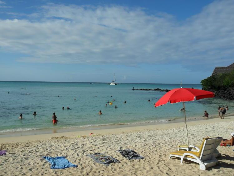 Schönster Strand von Grand Baie - La Cuvette