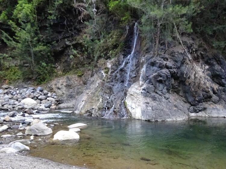 Fluss bei Trou Blanc