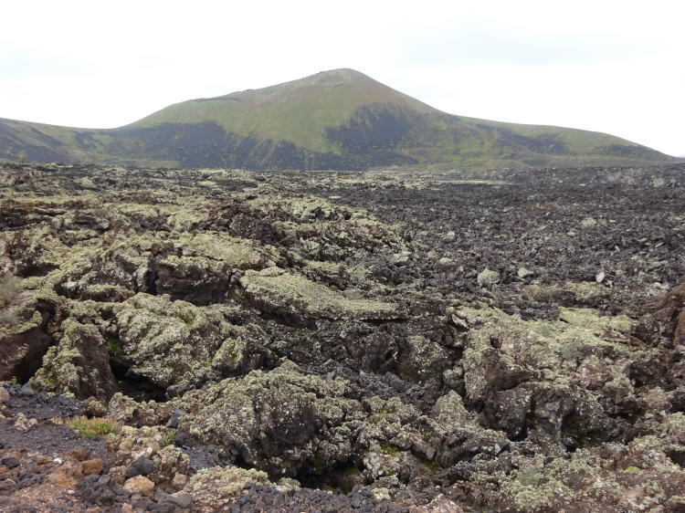 Vulkanberge bei Mancha Blanca