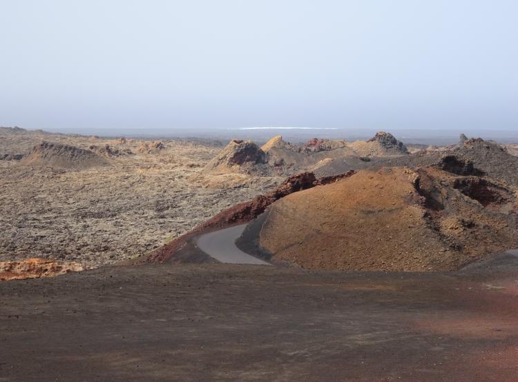 Nationalpark Timanfaya - Vulkankrater