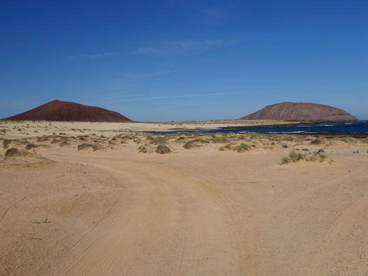 Auf dem Weg zur Playa Lambra