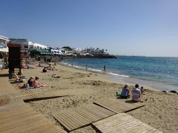 Strand Playa Blanca