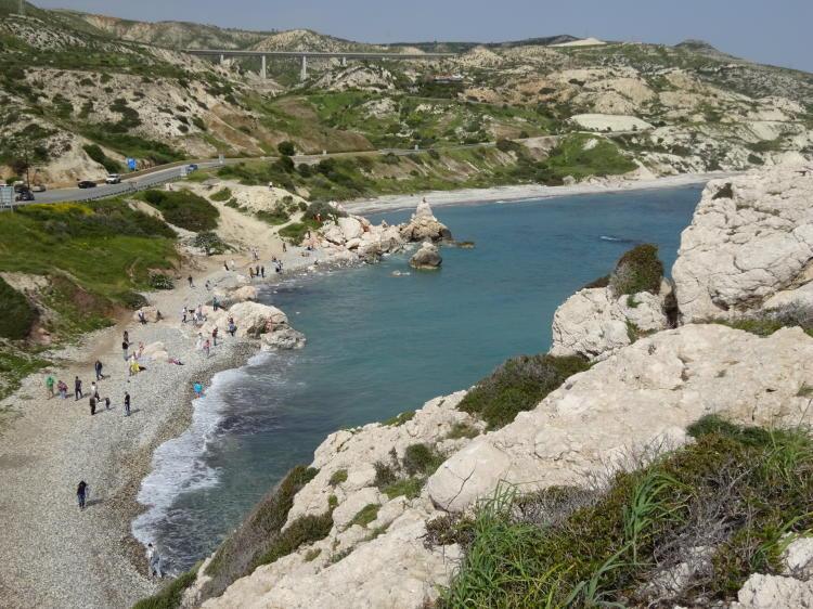 Ausblick von Aphrodites Felsen