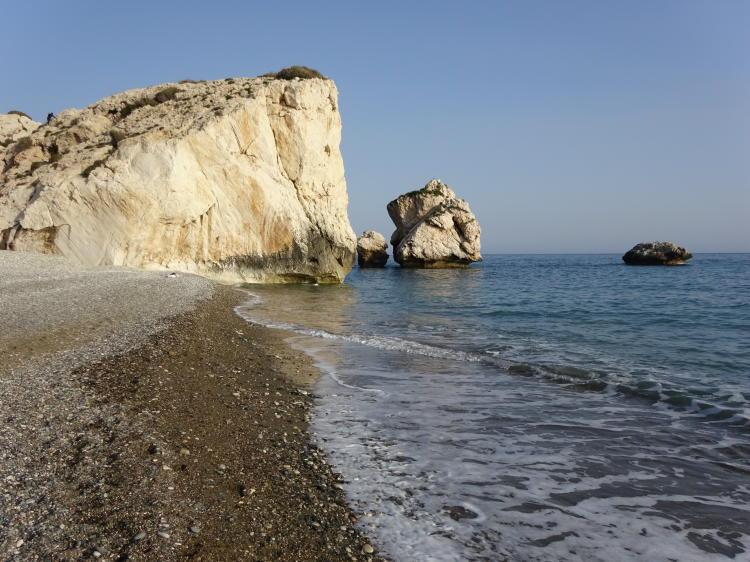 Petra tou Romiou (Aphrodite's Rock)
