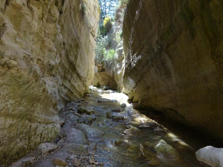 Wanderung Avakas-Schlucht (Avgas-Schlucht)