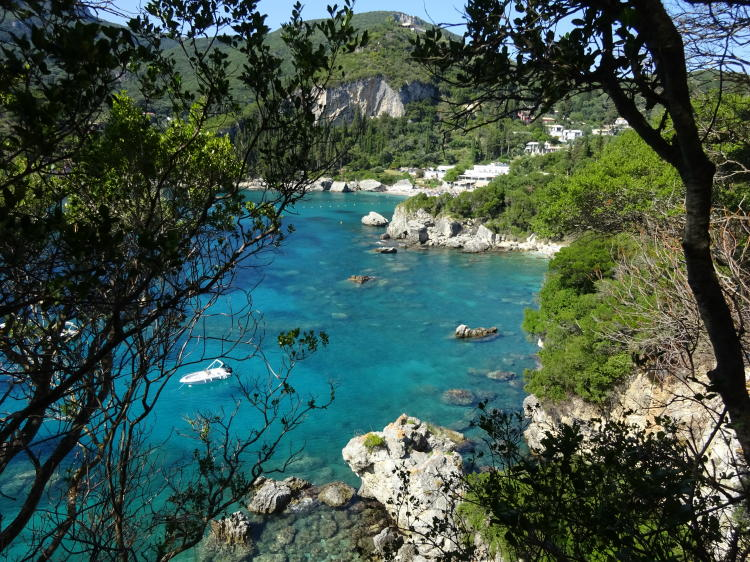 Liapades - Auf dem Weg zum Rovinia Beach