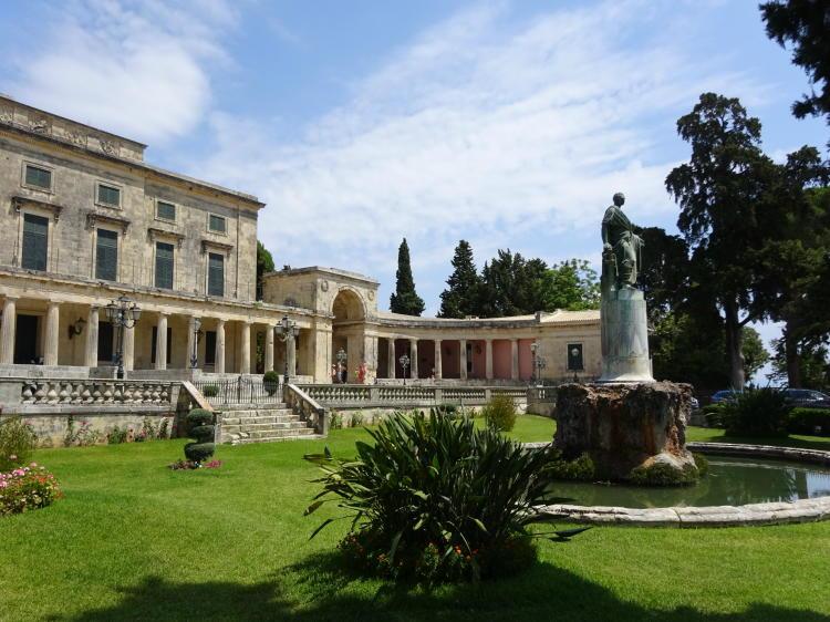 Old Palace - Korfu Stadt