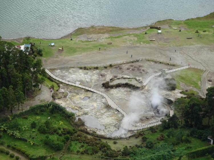 Lagoa das Furnas Aussichtspunkt
