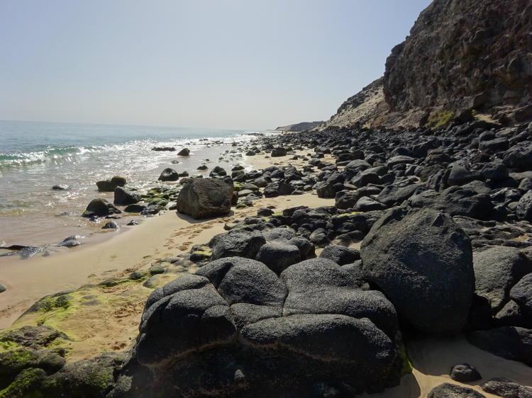 Strandwanderung nach Morro Jable