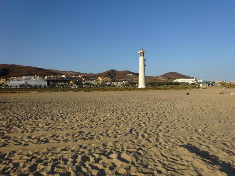 Leuchtturm Morro Jable - Jandia Playa