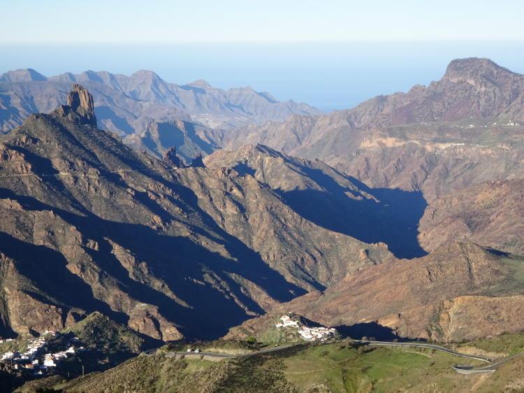 Berge bei Cruz de Tejeda