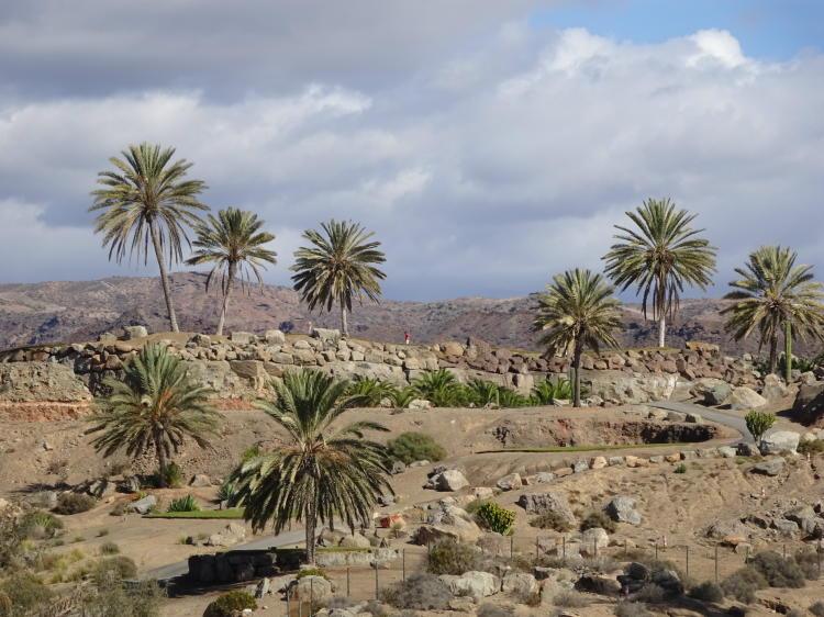 Landschaft Gran Canaria bei Playa de Tauro
