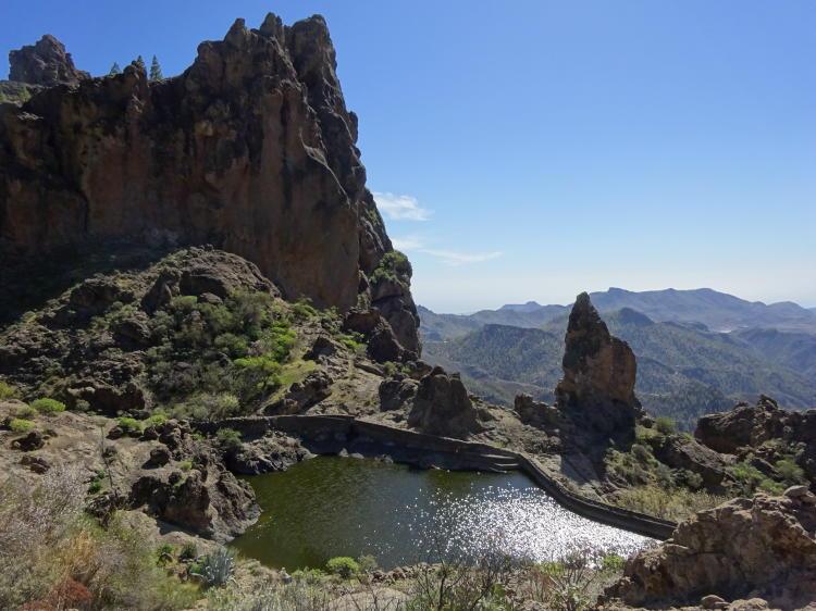 Wasserbecken - Abstieg Degollada del Asserador