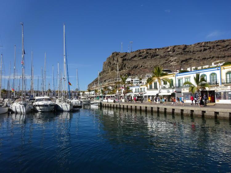 Hafen Puerto de Mogán