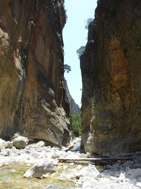 Samaria-Schlucht - Eiserne Pforte