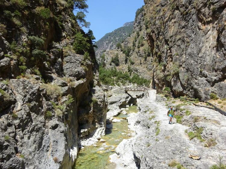 Samaria-Schlucht - Nähe unterer Ausgang