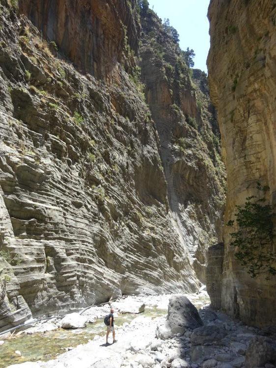 Wandern Samaria-Schlucht