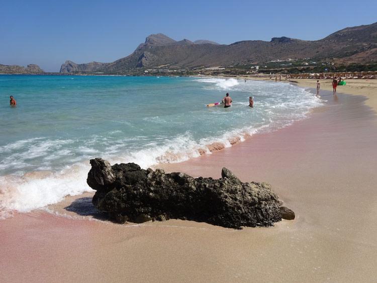 Falasarna - pinker Strand