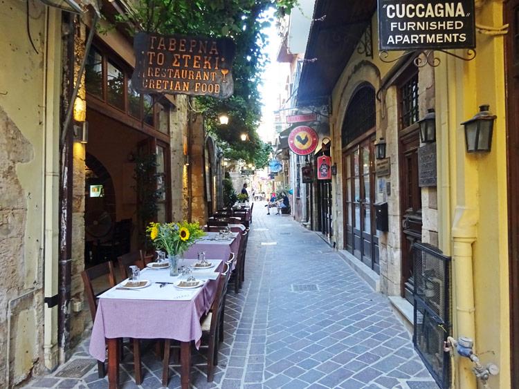 Chania Altstadt
