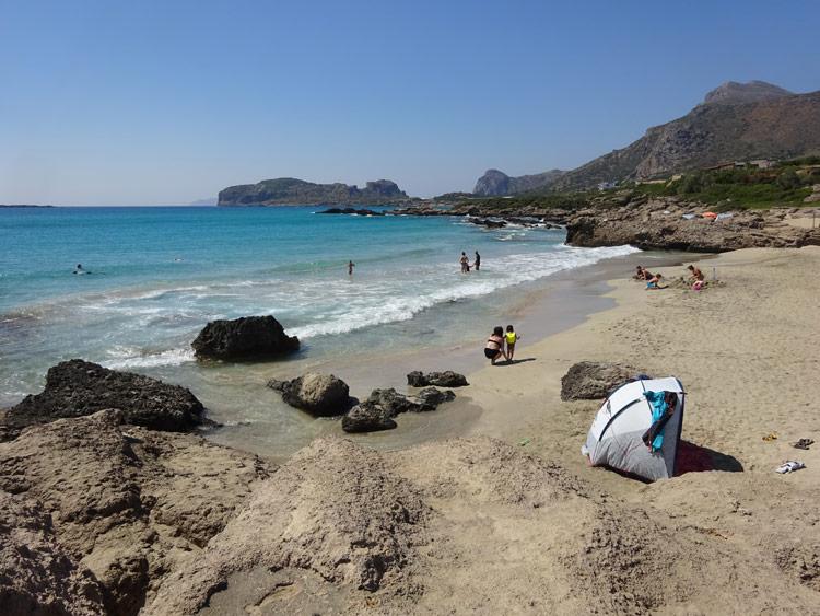 Falasarna Small Beach