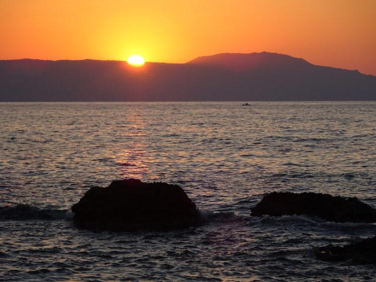 Chania Sonnenuntergang