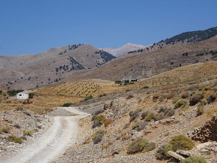 Landschaft zwischen Komitades und Chora Sfakion
