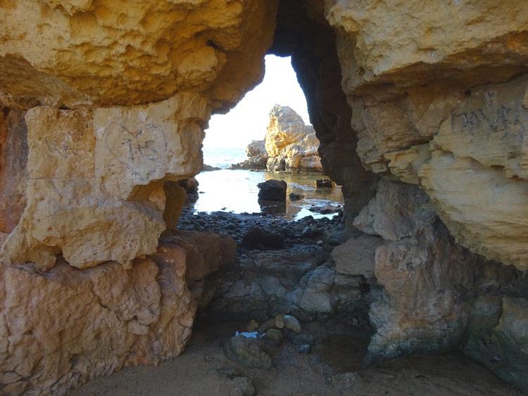 Höhle bei Agii Apostoli