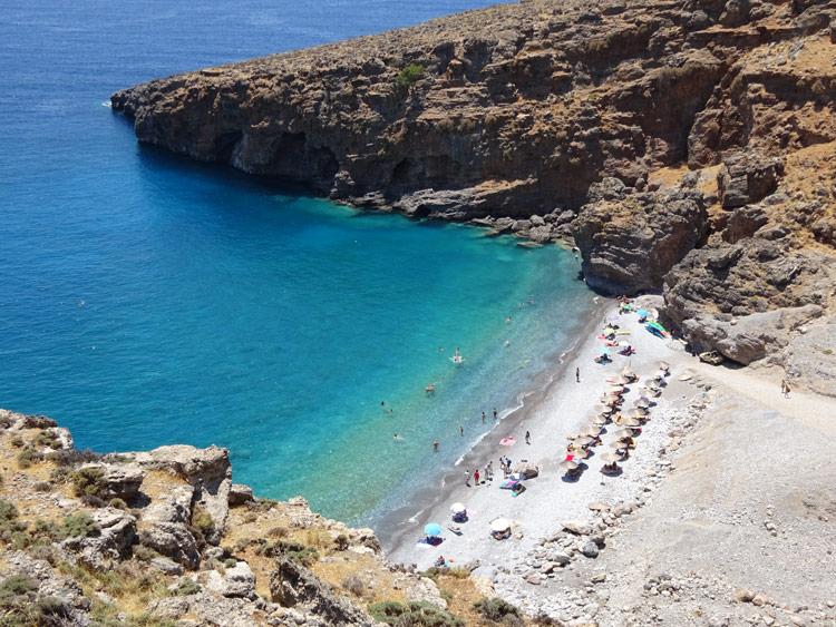 Ilingas Beach bei Chora Sfakion