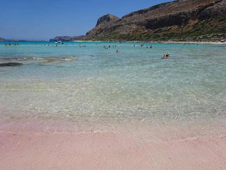 Balos - Pink und türkis