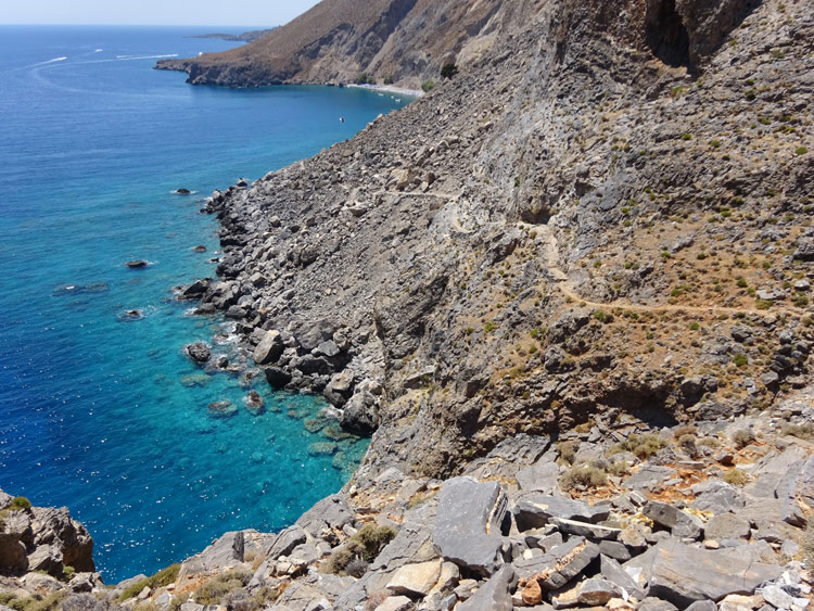Küstenwanderweg E4 - Kreta
