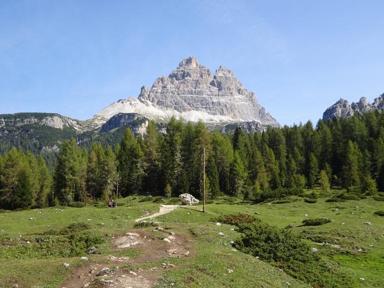 Aufstieg zur Auronzohütte
