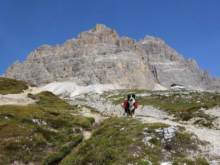 Fast angekommen an der Aronzohütte