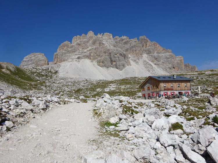 Weg zur Lavaredohütte