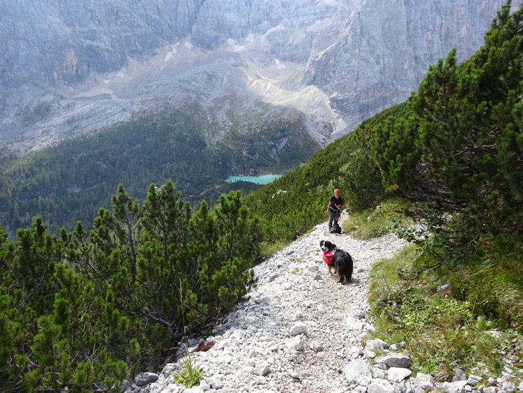 Wandern Sorapis See