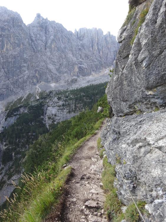 Weg zum Sorapis See