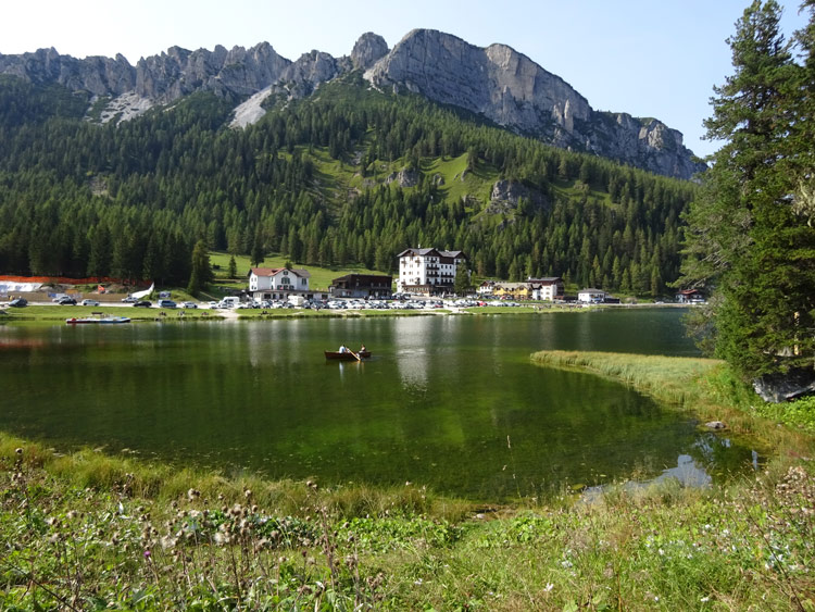 Ausflug Cortina d'Ampezzo zum Misurinasee