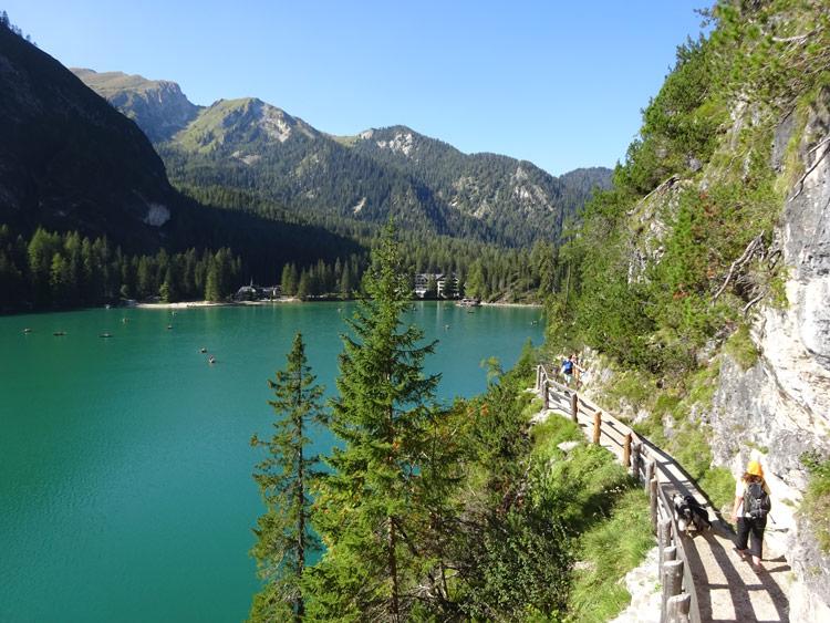 Rundweg Pragser Wildsee