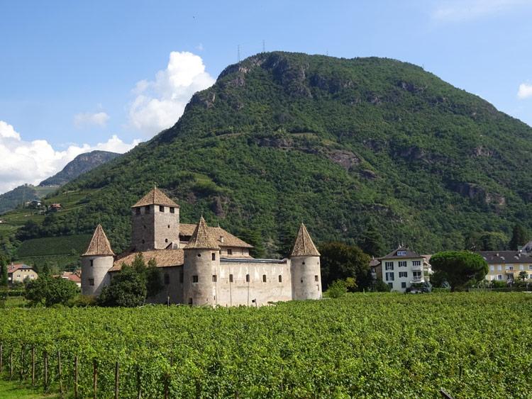 Burgen in Bozen