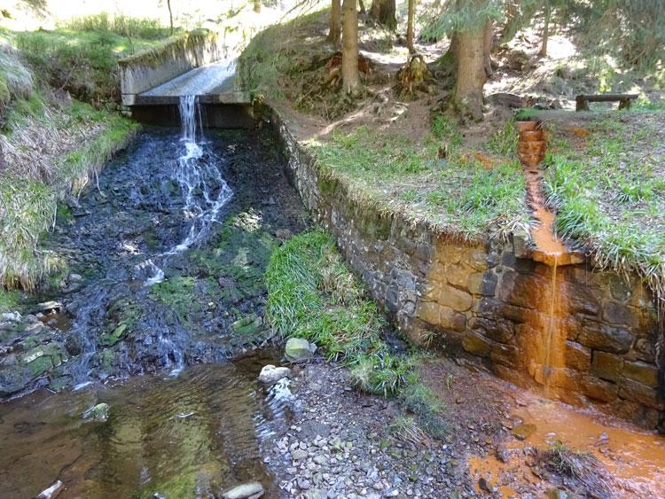 Eisenquelle am Dammgraben