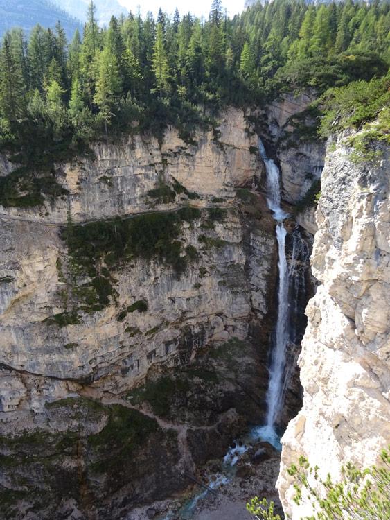 Fanes Wasserfälle (1.)