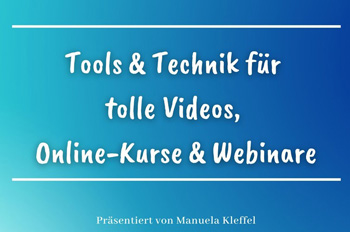 Tools Technik Videos, Online-Kurse, Webinare