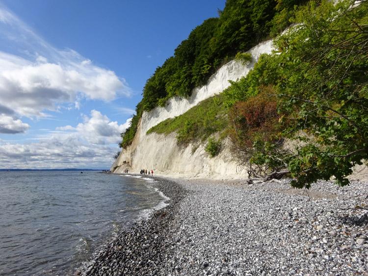 Kreideküste Insel Rügen
